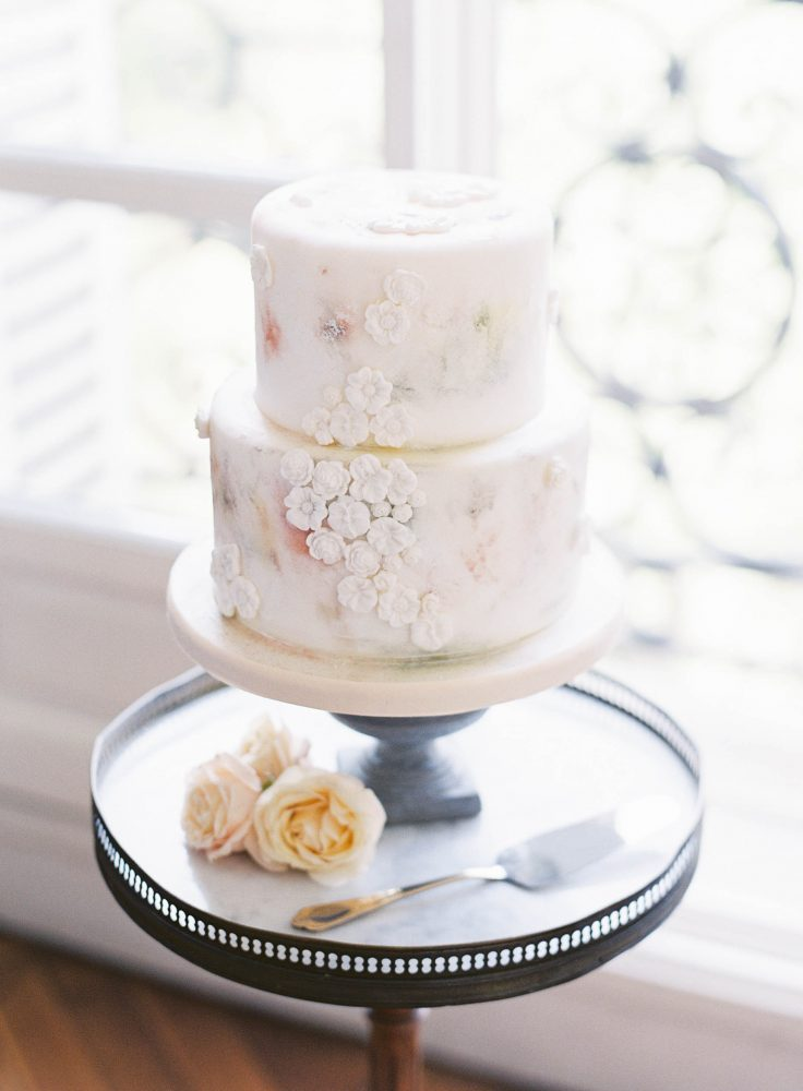Paris Wedding Cake Lindsey Nicole Photography