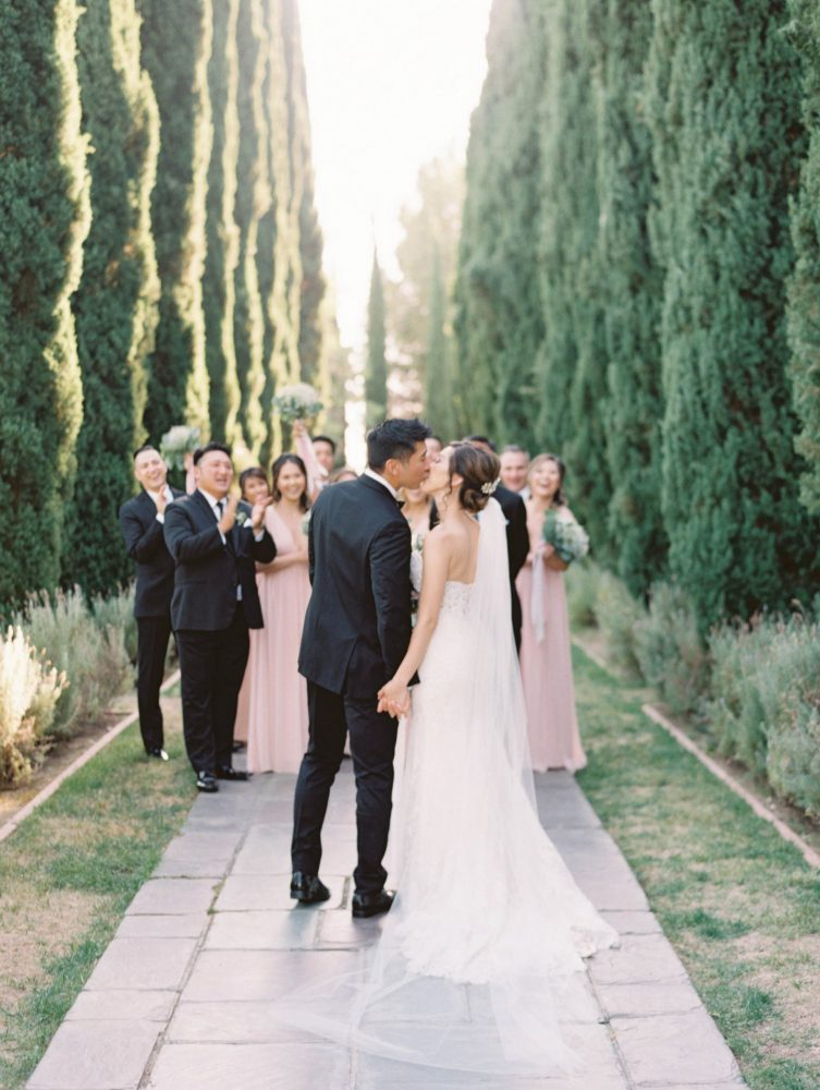 Greystone Mansion Wedding In Beverly Hills by Lindsey Nicole Photography
