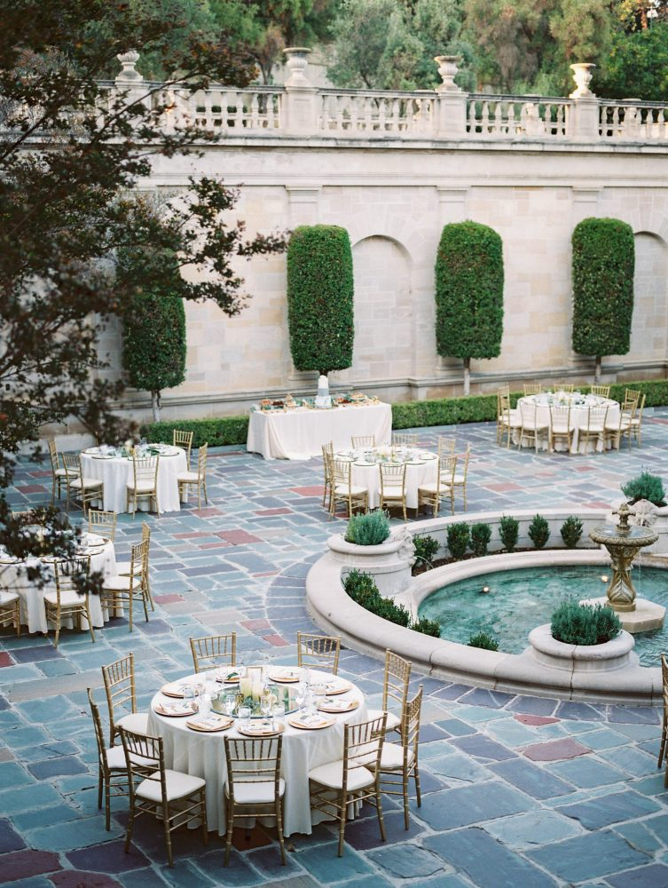Greystone Mansion Luxury Wedding in Beverly Hills photographed by Lindsey Nicole Photography